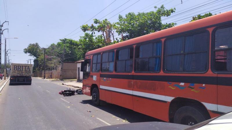 Homem morre atropelado por caminhão em Teresina