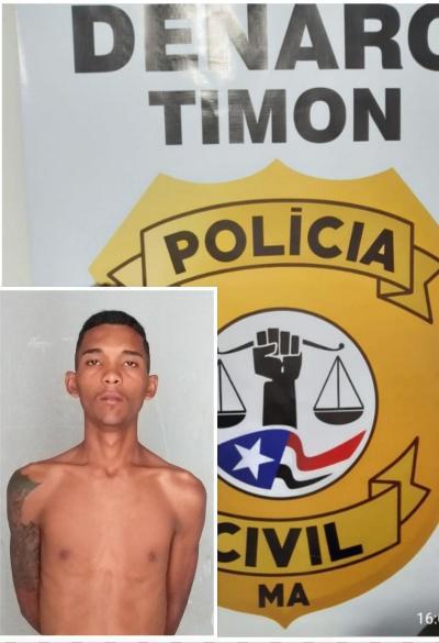 Denarc/Timon prende ladrão que agrediu e assaltou idoso de 84 anos
