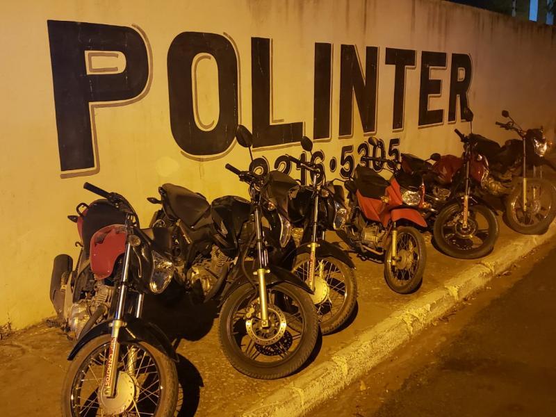 Polícia apreende seis motos dentro de residência em Teresina