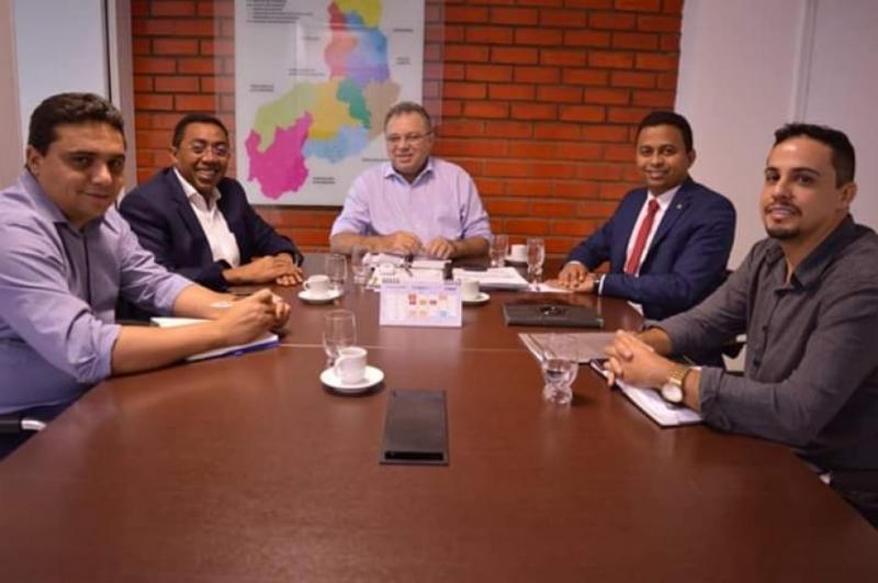 Joel Rodrigues discute parcerias com a secretaria de Estado da Saúde