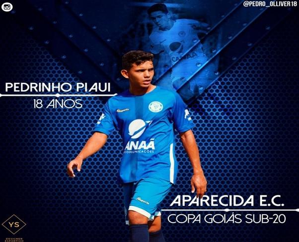 O atacante coloniense Pedro Henrique se destaca no futebol de base goiano