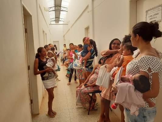 Acompanhamento de puericultura na UBS de Colônia do Gurgueia