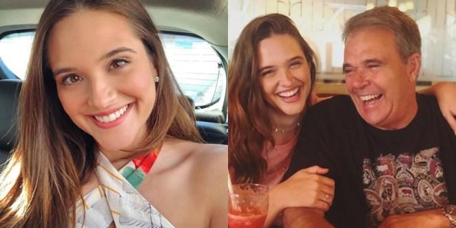 Pai da atriz da Globo Juliana Paiva morre vítima de enfarte