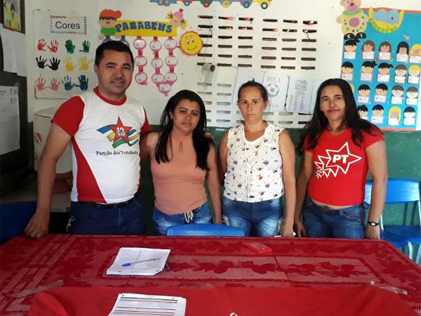 São Miguel do Tapuio | PT reelege presidência do Diretório Municipal