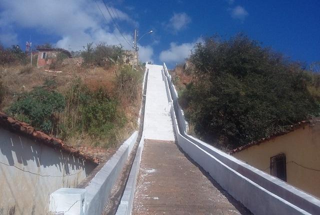 Defesa Civil recupera escadas do município de Picos