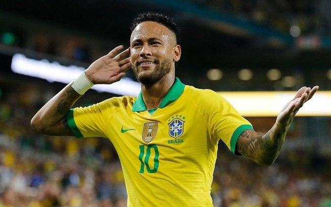 Neymar é o terceiro melhor jogador nos games Fifa 20 e PES 2020