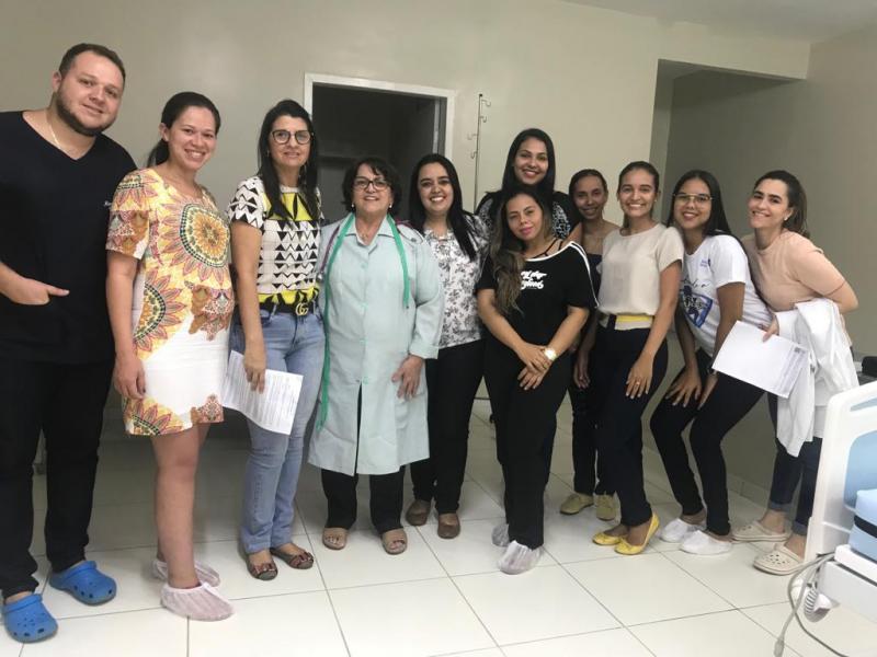 Equipe do Hospital participa de curso sobre teste do coraçãozinho