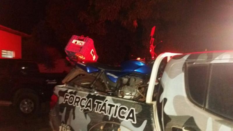 Acidente entre motos deixa duas pessoas feridas no Piauí