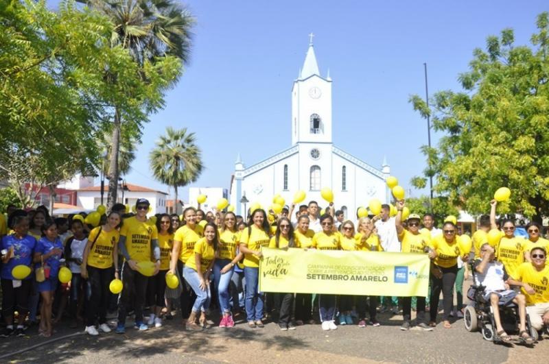 José de Freitas | Atividades são realizadas em alusão ao Setembro Amarelo