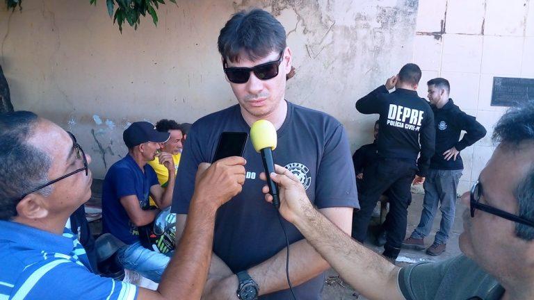 Operação em São João do Arraial teve participacão de 20 agentes de Teresina