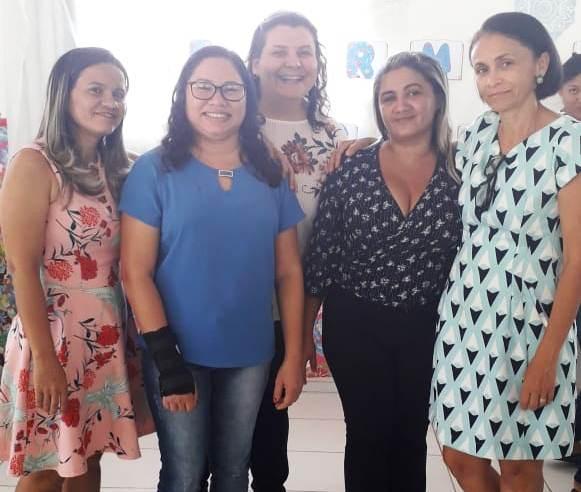 Francinópolis recebeu visita técnica de gestoras do FNDE e SEDUC