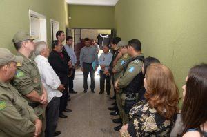 Piripiri | Três novas celas são inauguradas no Complexo de delegacias