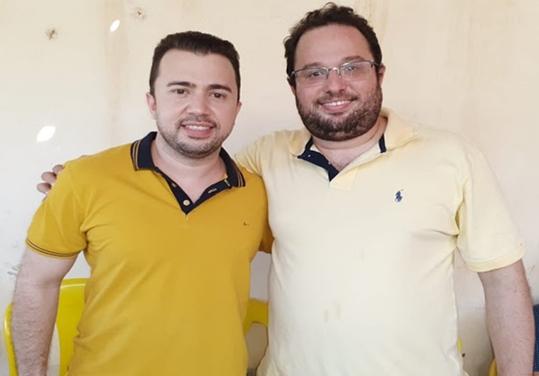 Eleições | Gilberto Filho é pré-candidato a vice de Erivelto Sá em Bocaina