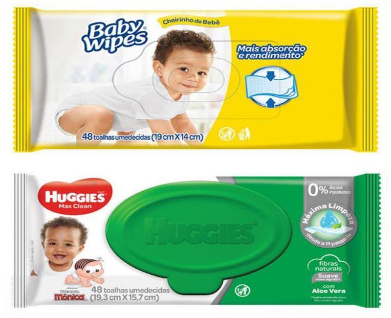 Empresa recolhe lenços para bebê por presença de bactéria