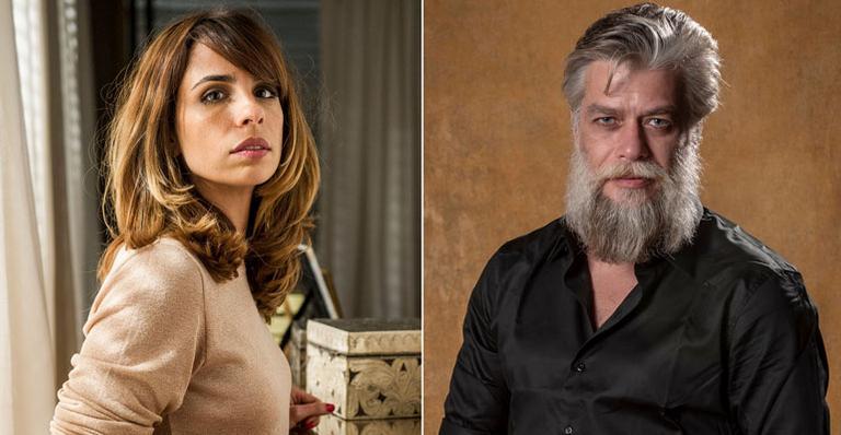 Ex-casal Maria Ribeiro e Fábio Assunção serão amantes em série da Globo