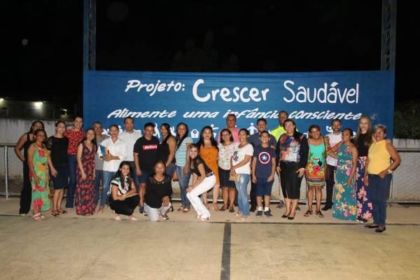 Lançamento do Programa Crescer Saudável em Colônia do Gurgueia