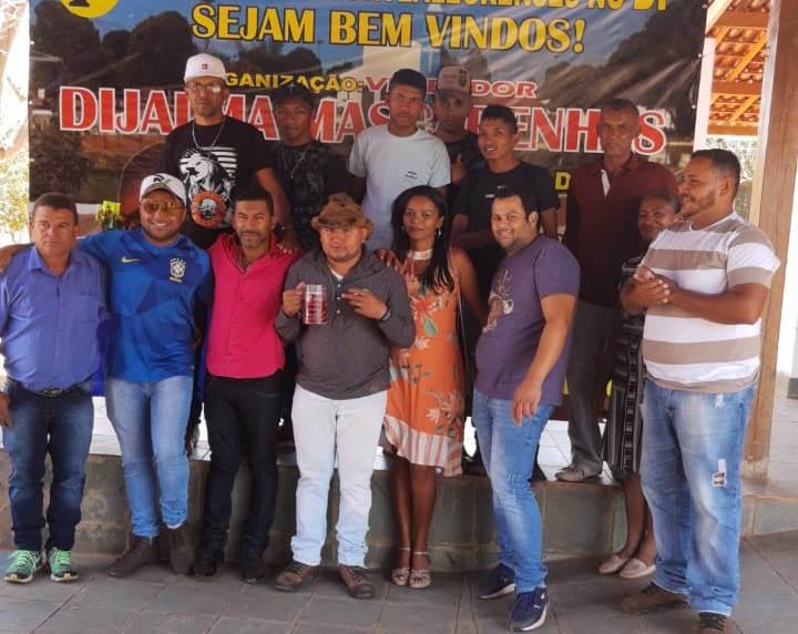 Vereador Dijalma Mascarenhas promoveu mega churrasco em Brasília-DF.