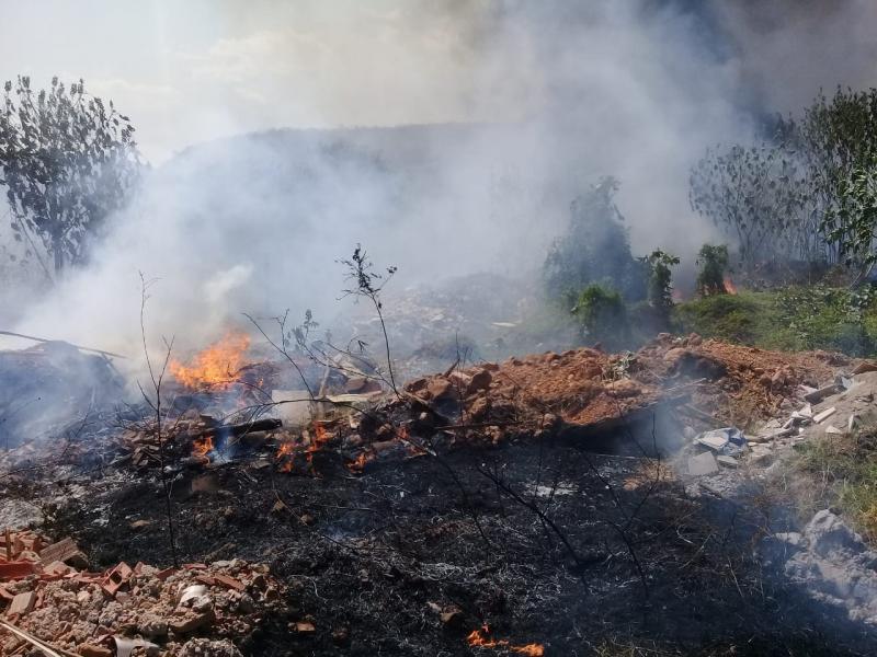 Corpo de Bombeiros combatem 18 focos de Incêndio na região