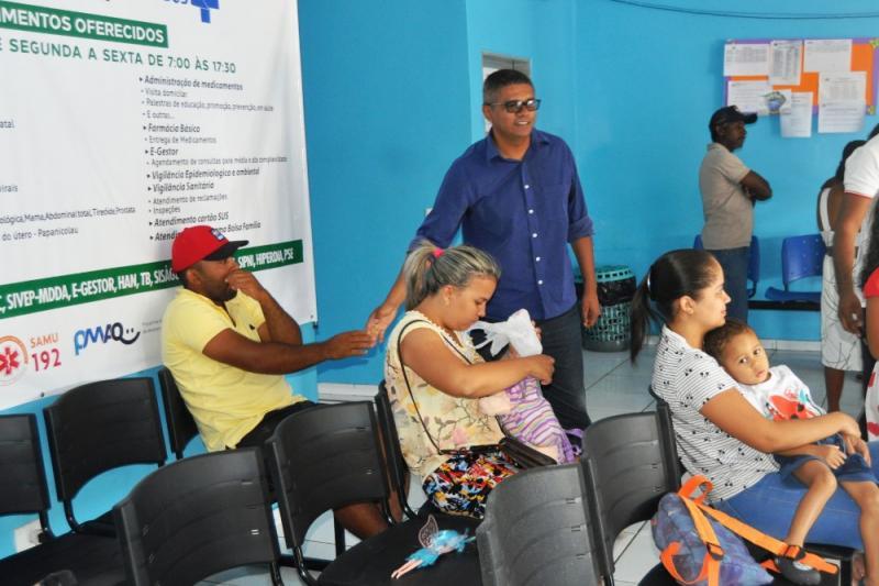 Donizete Matos acompanha o projeto AÇÃO POPULAR em Monte Alegre