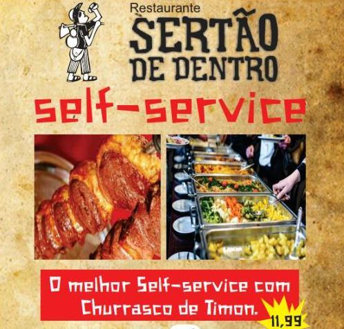 Self Service do Sertão de Dentro inaugura nesta segunda-feira(16)