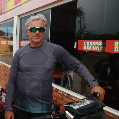 Grande façanha do ciclista Expedito, ele saiu de Samambaia-DF para Mucambo-CE numa bicicleta