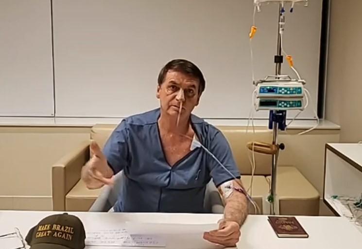 Bolsonaro receberá alta nesta segunda-feira