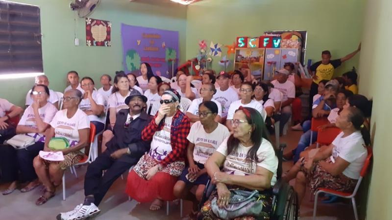 Social de Vera Mendes promove intercâmbio entre grupos de idosos