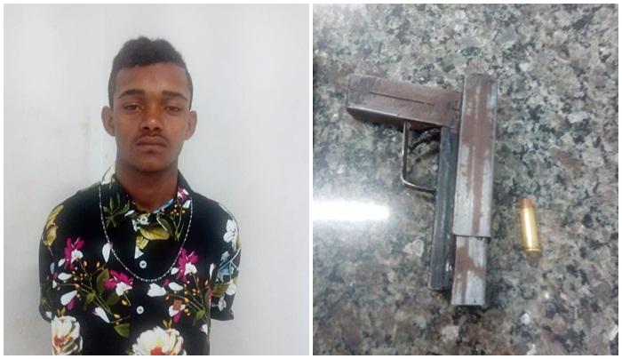 Guarda Municipal de Timon prende indivíduo com arma de fogo