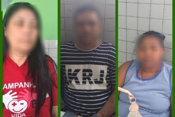 Três são presos acusados de roubar bebê e registrar como filho