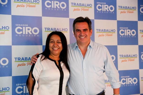 Prefeita Doquinha participa de audiência com o Senador Ciro Nogueira