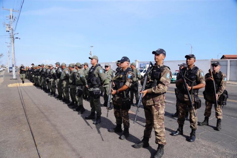 Litoral do Piauí recebe reforço de 280 policiais para Réveillon