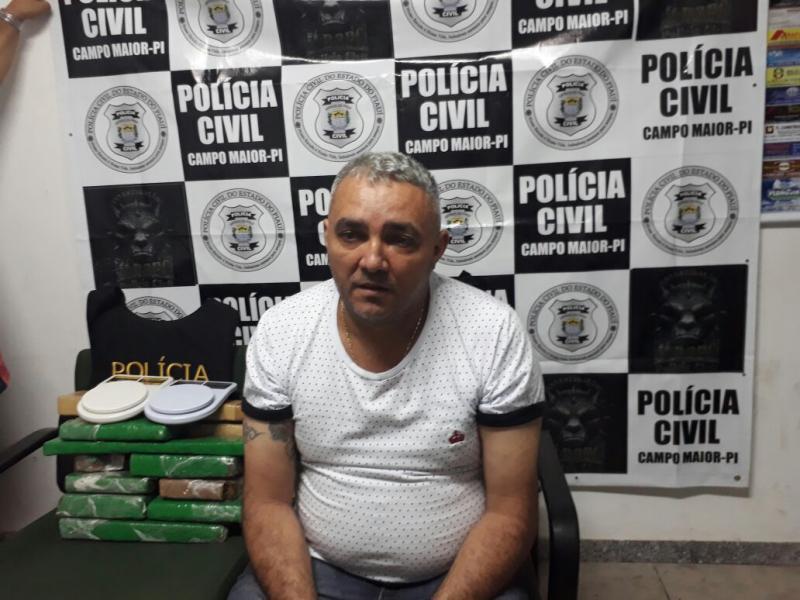 Foragido do Piauí é preso com droga na rodoviária de Tianguá