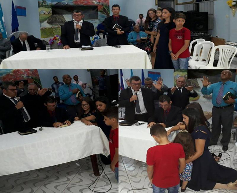 Pastor Orlando Santos e empossado na Igreja Assembléia de Deus de Gilbués-PI