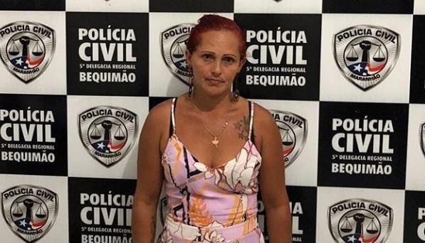 Mulher é presa e confessa furto e corrupção de menor no MA