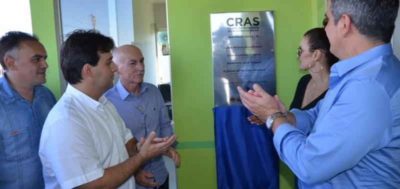 Prefeito Raimundo Júlio inaugura diversas obras em Queimada nova do Piauí