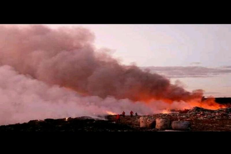 Incêndio atinge lixão no interior do Piauí e bombeiros são acionados