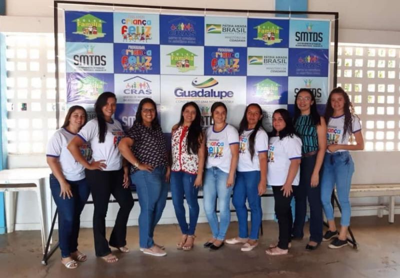 Programa Criança Feliz recebe visita das multiplicadoras estaduais