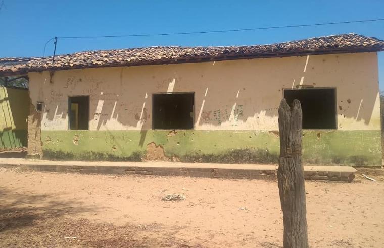 Vereador denuncia abandono de escola em Redenção do Gurgueia