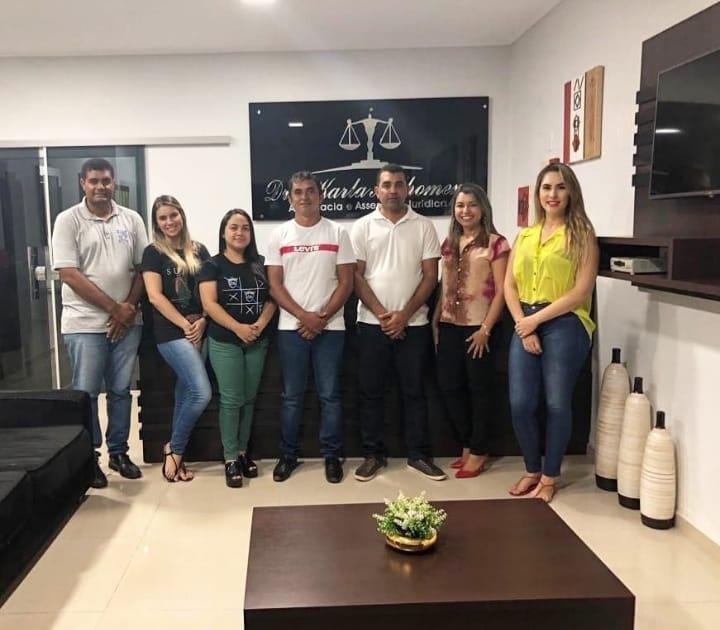 Raimundo Barros, reforça seu projeto com assessoria jurídica especializada.