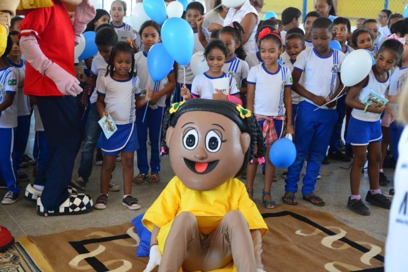 """""""Turminha do MPF"""" visita escolas municipais de Floriano"""