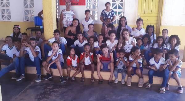 Programa Saúde na Escola (PSE) sendo executado em Lagoa Cercada