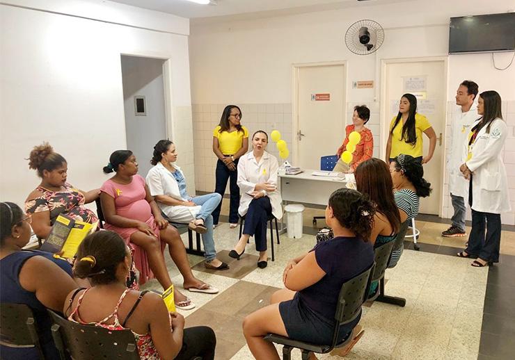 CAEMI: 'Projeto Maternando' desenvolve ações pelo Setembro Amarelo