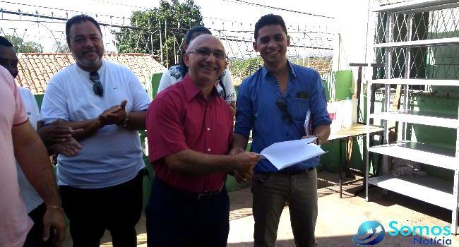 Ironilson Lima toma posse como secretário municipal de Educação de Amarante