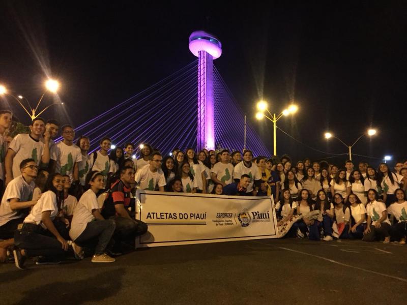 Delegação do Piauí envia 180 jovens para os Jogos Escolares da Juventude