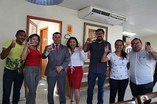 Fábio Novo inicia pré-campanha cumprindo agenda de reuniões em Teresina