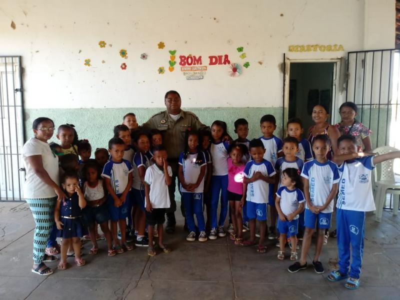 GPM de São Francisco do Piauí continua o projeto de visitas as comuniddades