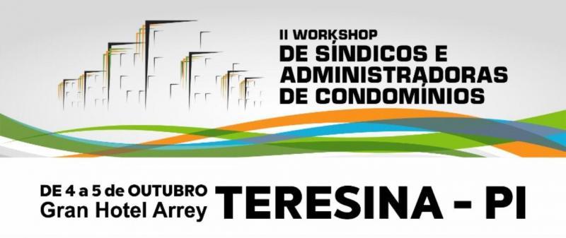II Workshop de Síndicos e Administradoras de Condomínios