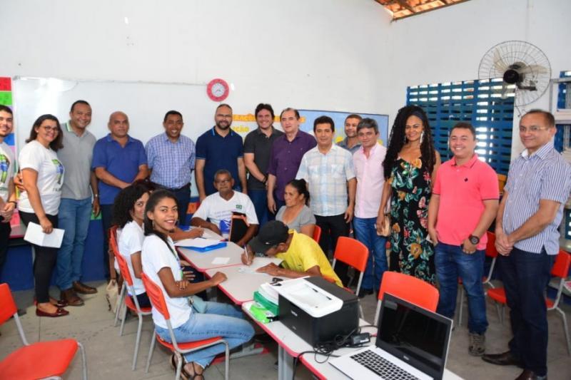 SEMDAS realiza Social Itinerante na comunidade Papa Pombo