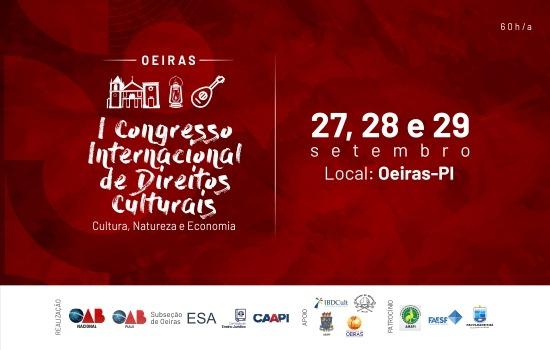 I Congresso Internacional de Direito Culturais