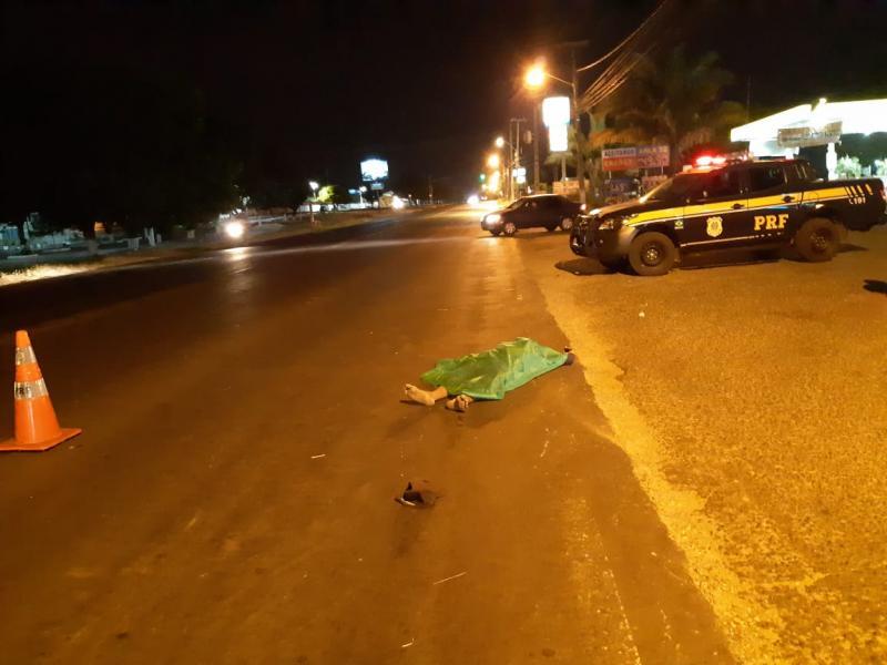 Morador de rua morre atropelado na BR-343 em Teresina